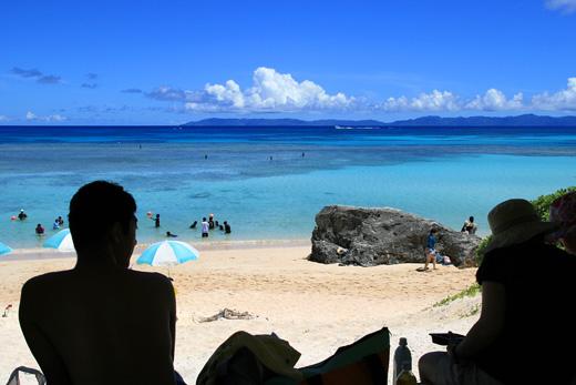 波照間島 ニシ浜
