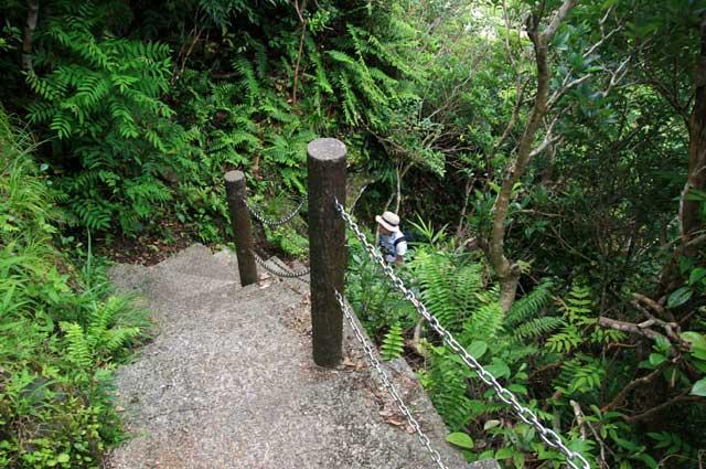 タッチューの登山道