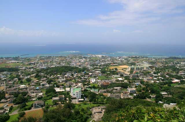 タッチュー山頂からの眺め