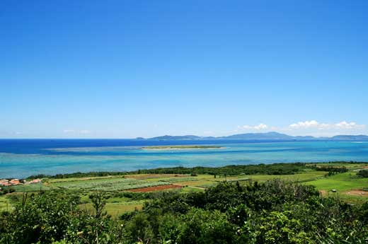 大岳展望台からの眺め