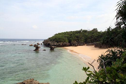 ティーヌ浜の全貌