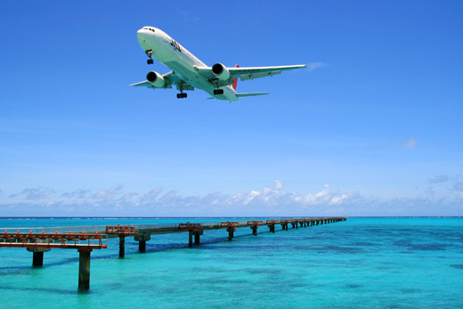 ANAのジェット機