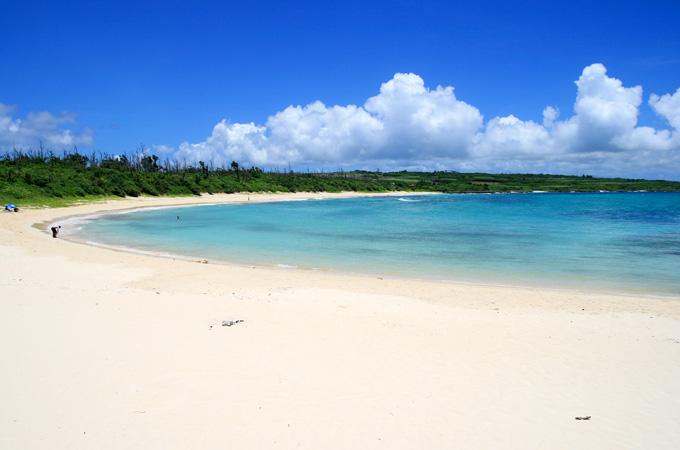 下地島と伊良部島を分ける「水路」?
