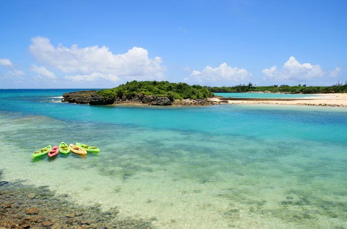 下地島と伊良部島の間にある海峡
