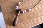 流木のネックレス